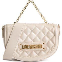 Torebka LOVE MOSCHINO - JC4002PP17LA0110 Avorio. Brązowe torebki do ręki damskie Love Moschino, ze skóry ekologicznej. Za 779.00 zł.