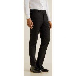 Mango Man - Spodnie Brasilia. Eleganckie spodnie męskie marki Giacomo Conti. W wyprzedaży za 99.90 zł.