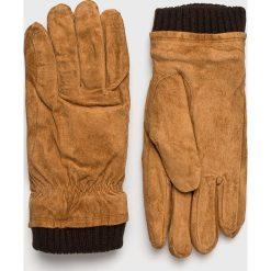 Jack & Jones - Rękawiczki skórzane. Rękawiczki męskie marki FOUGANZA. W wyprzedaży za 149.90 zł.