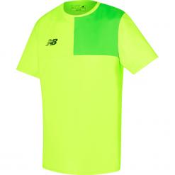 Koszulka New Balance MT710002TOX. Żółte koszulki sportowe męskie New Balance, z jersey. W wyprzedaży za 69.99 zł.