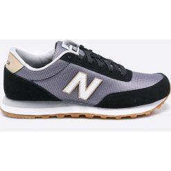 New Balance - Buty ML501RFA. Szare buty sportowe męskie New Balance, z materiału. W wyprzedaży za 269.90 zł.