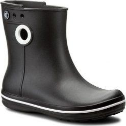 Kalosze CROCS - Jaunt Shorty Boot W 15769 Black. Czarne kozaki damskie Crocs, z tworzywa sztucznego. W wyprzedaży za 149.00 zł.