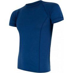 Sensor Koszulka Termoaktywna Merino Air M Ble Xxl. Niebieskie koszulki sportowe męskie Sensor, z materiału, z krótkim rękawem. Za 195.00 zł.