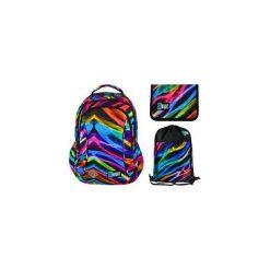 Plecak + piórnik + worek St.Right New Illusion. Szare torby i plecaki dziecięce St-Majewski, z gumy. Za 165.00 zł.