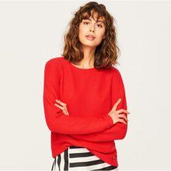Sweter - Czerwony. Kardigany damskie marki bonprix. W wyprzedaży za 69.99 zł.