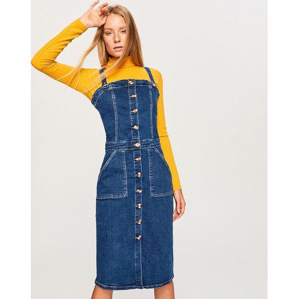 43cc838255 Jeansowa Sukienka Niebieski Sukienki Damskie Marki Reserved W