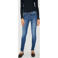Levi's - Jeansy 710. Brązowe jeansy damskie Levi's. Za 329.90 zł.