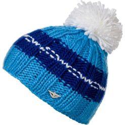 Woox Czapka Zimowa z Pomponem Unisex | Niebieska Aurora Beanie - Aurora Beanie  -          - 8595564737551. Czapki i kapelusze męskie Woox. Za 48.15 zł.