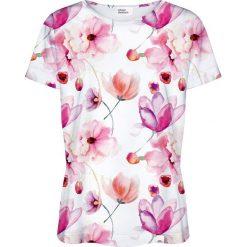 Colour Pleasure Koszulka damska CP-030 156 biało-różowa r. M/L. T-shirty damskie Colour Pleasure. Za 70.35 zł.