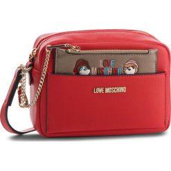 Torebka LOVE MOSCHINO - JC4279PP06KK0500  Rosso. Czerwone listonoszki damskie Love Moschino, ze skóry ekologicznej. W wyprzedaży za 499.00 zł.