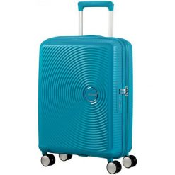 American Tourister Walizka Soundbox 55, Summer Blue. Walizki męskie American Tourister. W wyprzedaży za 449.00 zł.