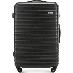 Walizka duża 56-3A-313-10. Brązowe walizki damskie Wittchen, z gumy. Za 199.00 zł.