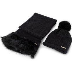 Zestaw Szalik i Czapka TRUSSARDI JEANS - Kit Hat/Scarf Knitted Ecofur 59Y00000 K299. Szaliki i chusty damskie TRUSSARDI JEANS, z jeansu. W wyprzedaży za 319.00 zł.