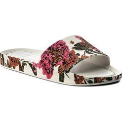 Klapki MELISSA - Beach Slide III Ad 32276 White/Pink 50600. Białe klapki damskie Melissa, z tworzywa sztucznego. W wyprzedaży za 189.00 zł.