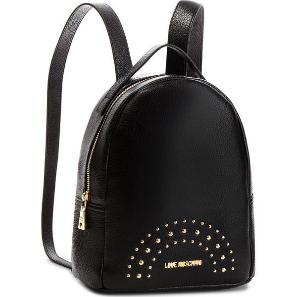 5f33d37e9ae32 Plecak LOVE MOSCHINO - JC4117PP16LU000A Nero/Oro - Czarne plecaki ...