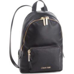 Plecak CALVIN KLEIN - Drive Backpack K60K604462 001. Czarne plecaki damskie Calvin Klein, ze skóry ekologicznej. Za 649.00 zł.