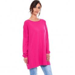 """Sweter """"Odile"""" w kolorze różowym. Czerwone swetry damskie Cosy Winter, z okrągłym kołnierzem. W wyprzedaży za 181.95 zł."""