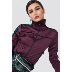NA-KD Bluza sportowa z suwakiem - Purple. Fioletowe bluzy damskie NA-KD, z poliesteru. Za 202.95 zł.