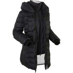 Kurtka outdoorowa 2 w 1, pikowana bonprix czarny. Czarne kurtki damskie bonprix. Za 269.99 zł.
