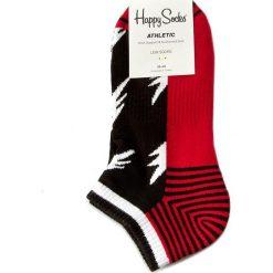 Skarpety Niskie Unisex HAPPY SOCKS - ATFLA05-9000 Czerwony. Skarpety męskie Happy Socks, z bawełny. Za 39.90 zł.