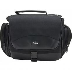 Esperanza torba ET147 na Aparat i akcesoria. Czarne torby na ramię męskie Esperanza, w paski, z gumy. Za 49.90 zł.