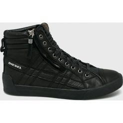 Diesel - Buty. Czarne buty sportowe męskie Diesel, z gumy. Za 769.90 zł.