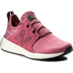 Buty NEW BALANCE - WCRUZHM Różowy. Czerwone obuwie sportowe damskie New Balance, z materiału. W wyprzedaży za 249.00 zł.