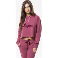 Cardio Bunny - Bluza Lipgloss. Różowe bluzy damskie Cardio Bunny, z nadrukiem, z bawełny. W wyprzedaży za 159.90 zł.