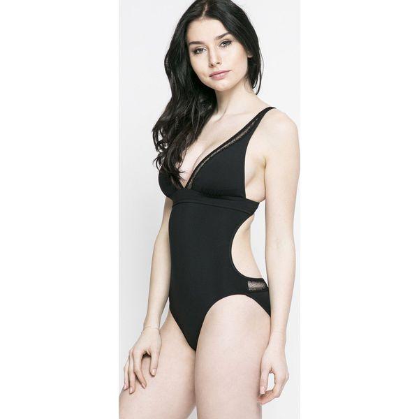 fb6685ea83e81e Seafolly - Strój kąpielowy Wildat Heart - Czarne kostiumy jednoczęściowe  damskie Seafolly, bez wzorów, z bawełny. W wyprzedaży za 249.90 zł.