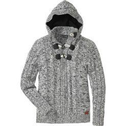 Sweter Regular Fit bonprix czarny melanż. Swetry przez głowę męskie marki Giacomo Conti. Za 129.99 zł.