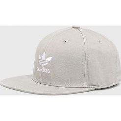 Adidas Originals - Czapka. Szare czapki i kapelusze damskie adidas Originals, z bawełny. Za 119.90 zł.