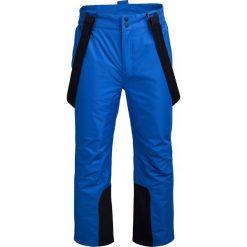 Spodnie narciarskie męskie  SPMN600 - niebieski - Outhorn. Niebieskie spodnie snowboardowe męskie Outhorn. Za 199.99 zł.