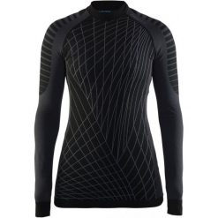 Craft Koszulka Termoaktywna Z Długim Rękawem Active Intensity Black L. Czarne koszulki sportowe damskie Craft, z długim rękawem. W wyprzedaży za 129.00 zł.
