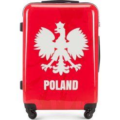 Walizka średnia 56-3A-242-WR. Brązowe walizki damskie Wittchen, z gumy. Za 299.00 zł.