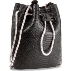 Torebka MELISSA - Bag + Baja East Ad 34131 Black 01003. Czarne torebki do ręki damskie Melissa, z tworzywa sztucznego. W wyprzedaży za 439.00 zł.