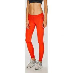 Reebok - Legginsy. Pomarańczowe legginsy damskie Reebok, z elastanu. W wyprzedaży za 259.90 zł.