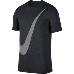 Nike T-Shirt Treningowy Męski M Nk Brt Top Ss Hpr Dry Logo/Black/Anthracite/White M. Białe t-shirty męskie Nike, z tkaniny. Za 165.00 zł.