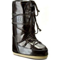 Śniegowce MOON BOOT - Vinile Met. 14021400001 Nero D. Czarne śniegowce i trapery damskie Moon Boot, ze skóry ekologicznej. Za 479.00 zł.