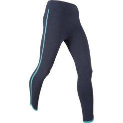 Legginsy sportowe ze stretchem, dł. 7/8, Level 1 bonprix ciemnoniebieski melanż. Legginsy damskie marki DOMYOS. Za 37.99 zł.