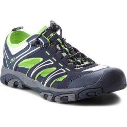 Sandały CMP - Aquarii Hiking Sandal 3Q95477 Black Blue N950. Niebieskie sandały męskie CMP, z materiału. W wyprzedaży za 149.00 zł.