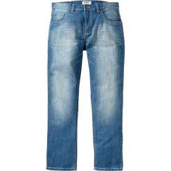 """Dżinsy Regular Fit Straight bonprix niebieski """"used"""". Jeansy męskie marki bonprix. Za 139.99 zł."""