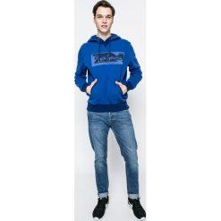 Pepe Jeans - Bluza Woodward. Niebieskie bluzy męskie Pepe Jeans, z nadrukiem, z bawełny. W wyprzedaży za 219.90 zł.