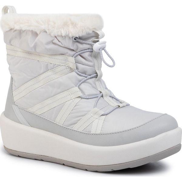Śniegowce CLARKS Step North Hi 261469254 Light Gray