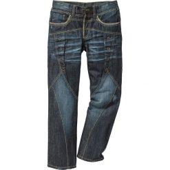 """Dżinsy Regular Fit Straight bonprix ciemnoniebieski """"used"""". Jeansy męskie marki bonprix. Za 159.99 zł."""