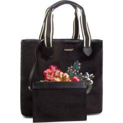 Torebka TWINSET - Shopping AA8PLA  Nero 00006. Czarne torebki do ręki damskie Twinset, z materiału. Za 629.00 zł.