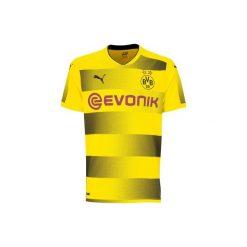 Koszulka krótki rękaw do piłki nożnej Dortmund. Żółte t-shirty damskie Puma. Za 219.99 zł.