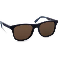 Okulary przeciwsłoneczne BOSS - 0281/S Blue PJP. Niebieskie okulary przeciwsłoneczne męskie Boss, z tworzywa sztucznego. W wyprzedaży za 399.00 zł.