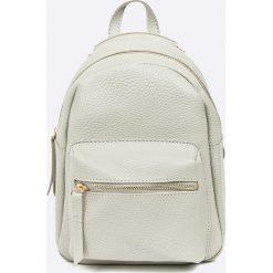 Answear - Plecak Garden of Dreams. Szare plecaki damskie ANSWEAR, ze skóry ekologicznej. W wyprzedaży za 59.90 zł.