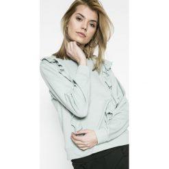 Jacqueline de Yong - Bluza Lotte. Szare bluzy damskie Jacqueline de Yong, z bawełny. W wyprzedaży za 49.90 zł.
