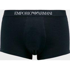 Emporio Armani - Bokserki. Czarne bokserki męskie Emporio Armani, z bawełny. Za 189.90 zł.